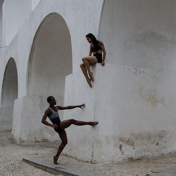 Bailarinos. by lidiacostax