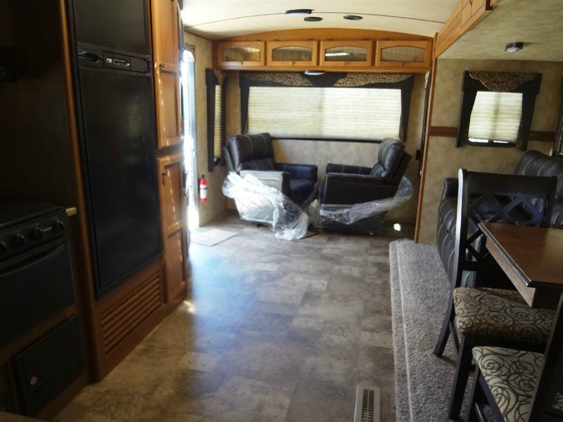 New 2015 CrossRoads RV Sunset Trail Super Lite ST290RL Travel Trailer at Pontiac RV | Pontiac, IL | #016258
