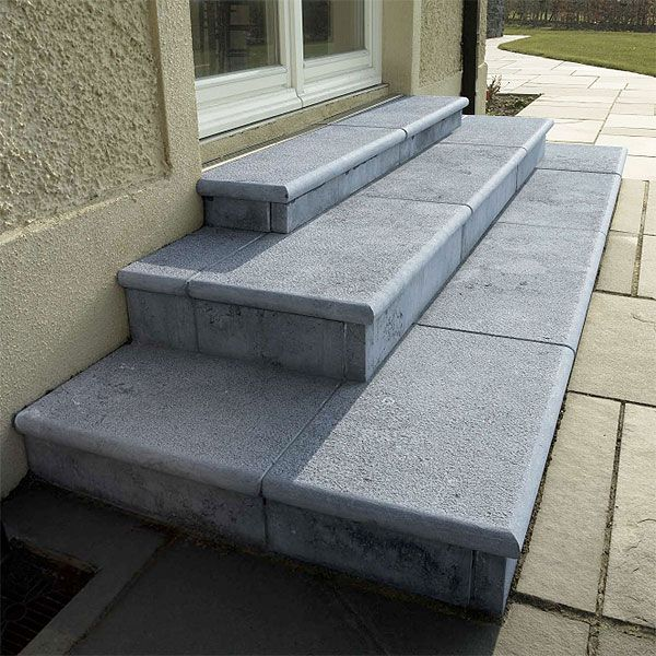 Feelystone roscommon can create custom stone steps using popular limestone granite natural stone materials