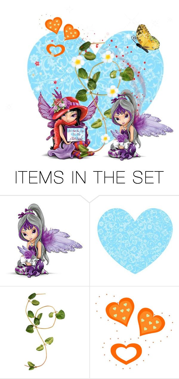 """""""Friendship Fairies"""" by m-aviles-ma ❤ liked on Polyvore featuring art"""