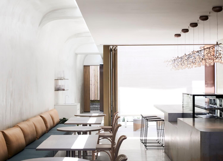 Willow urban retreat by meme design business restaurant design