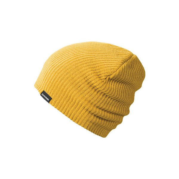 Dakine Tall Boy Beanie Yellow (€10) ❤ liked on Polyvore featuring  accessories 28cb36fc0294