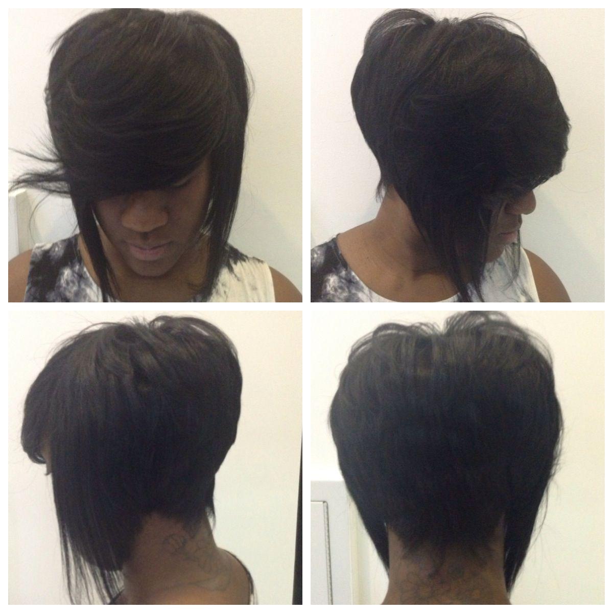 bonding bob in between the hair | bob | short hair styles