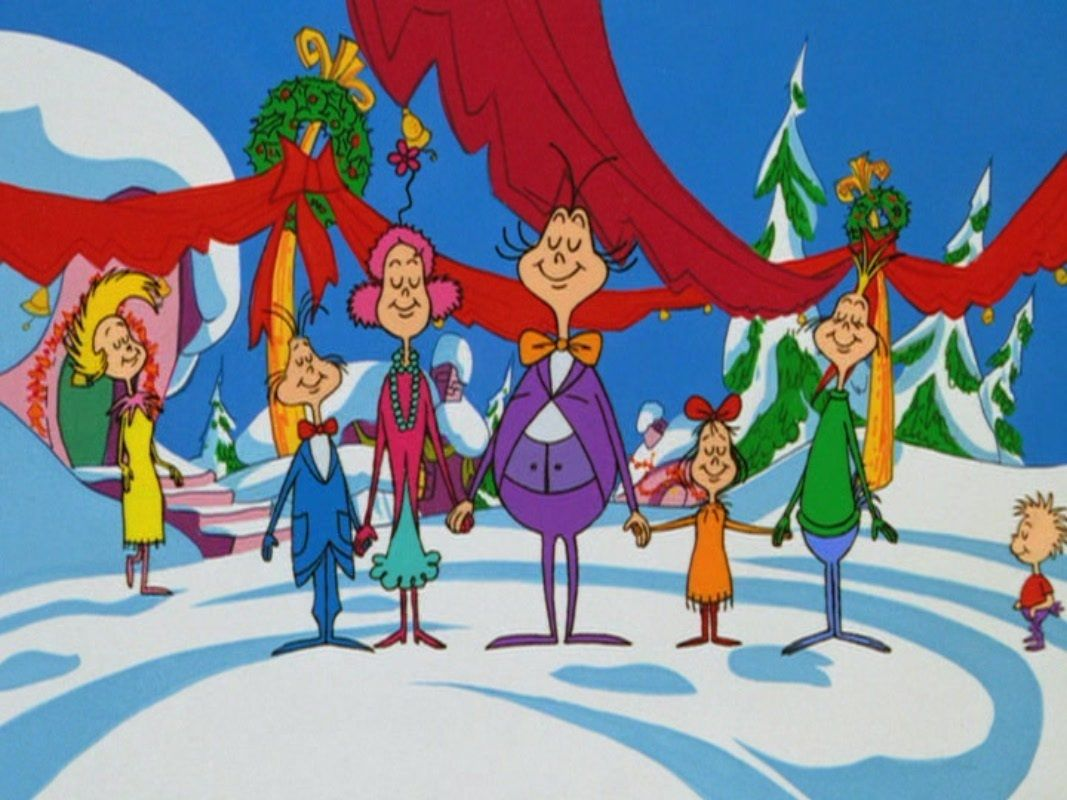How The Grinch Stole Christmas 1966 Characters.How The Grinch Stole Christmas Puzzle Pieces Whoville
