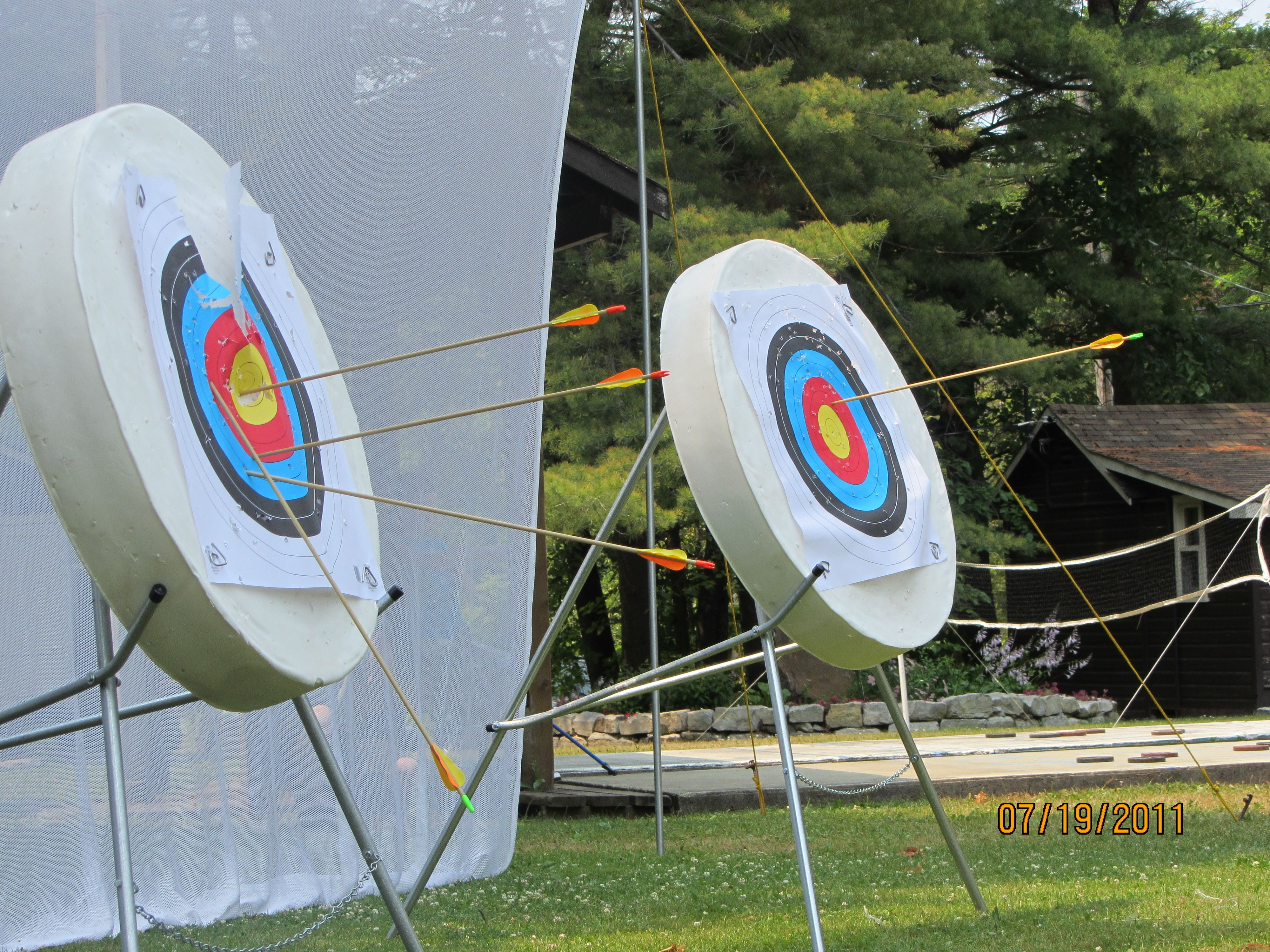 Archery with saugeen shafts every week you dont have to