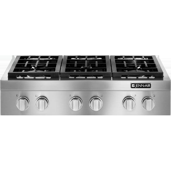 Pro Style 174 Gas Rangetop 36 Quot Jenn Air Kitchens Cocinas