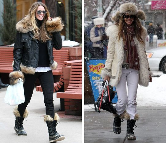 Joan of Arctic boot ...store on State Street | Snow outfit ...
