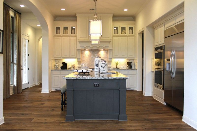 exceptional Kitchen Island Different Color #7: kitchen cabinets island different color - sarkem