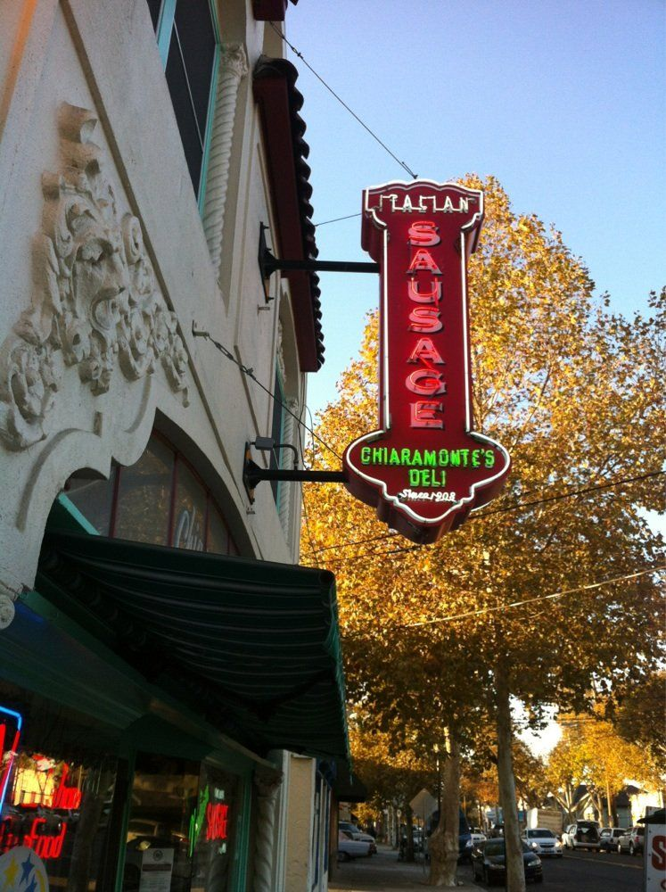 Chiaramontes Deli And Sausages Japantown My Home Town