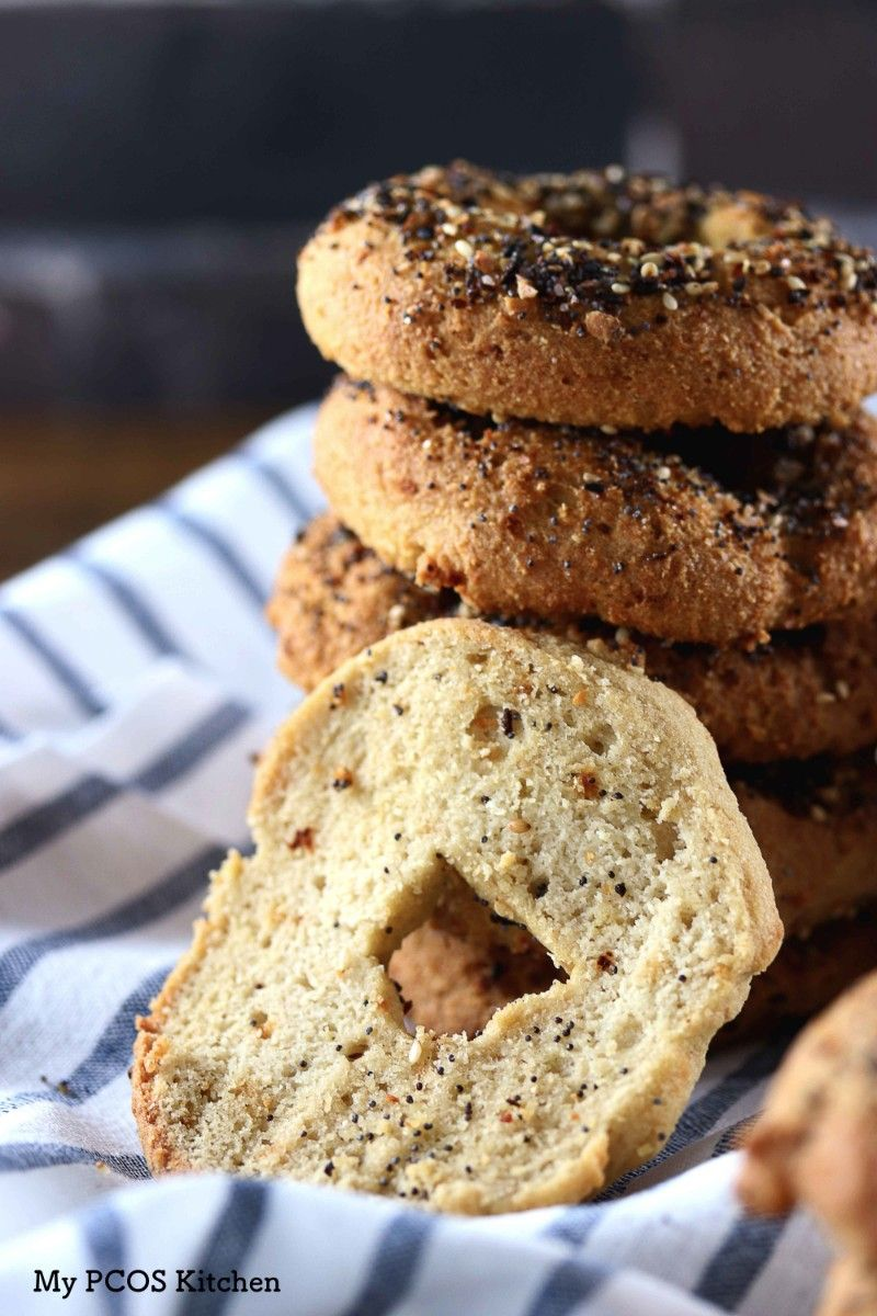 My PCOS Kitchen Dairyfree Keto Bagels These bagels