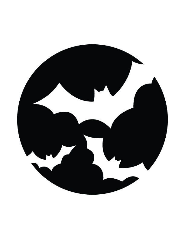 Batman Logo Pumpkin Carving Patterns Alternative Clipart Design