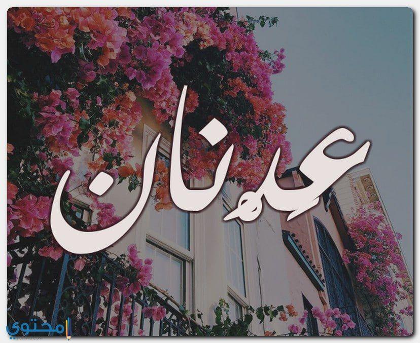 معنى اسم عدنان وصفات شخصيتة Adnan معاني الاسماء Adnan افضل صور اسم عدتات Neon Signs