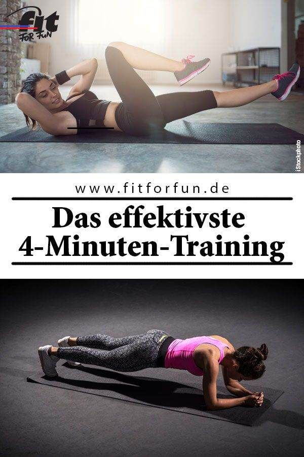 Tabata Training: Tipps & Übungen für das 4-Minuten-Workout 4 Minuten Tabata-Training können genau so...