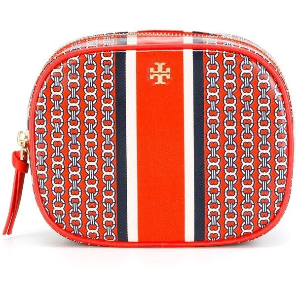 Tory Burch Gemini Link Cosmetic Case 42 035 Crc Liked On Polyvore Featuring Beauty