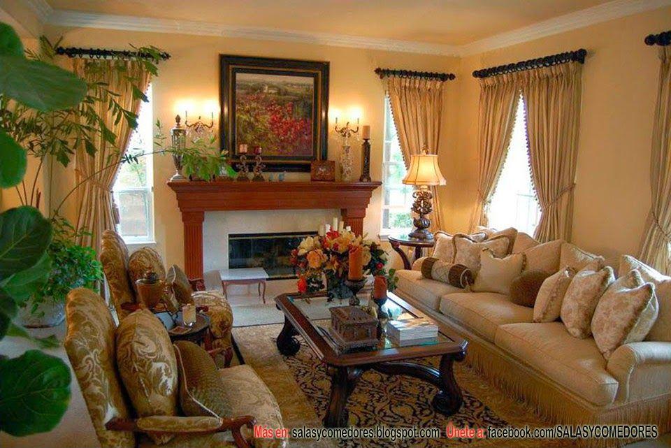 Arreglos salas tradicionales buscar con google - Estilo ingles decoracion interiores ...