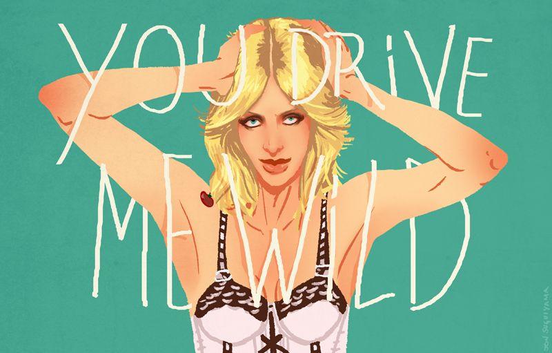 """You Drive Me Wild"" - A Giclée Print by Jon Suguiyama  #inprnt #print #art #Illustration $20.00"