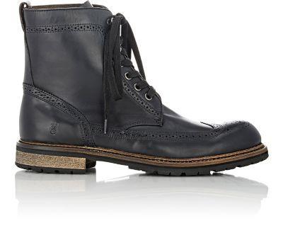 John Varvatos Star U.S.A. Strummer Winter Wingtip Boots at Barneys WarehouseU BETTER B A ROCK STAR