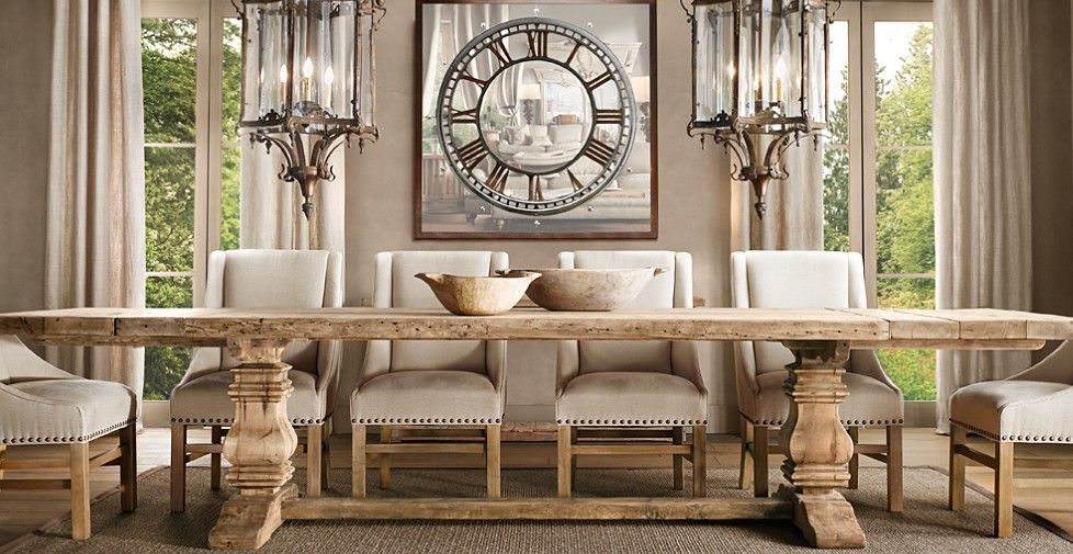restoration hardware | For the Home | Pinterest | Comedores, Sillas ...