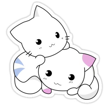 Pin By Sago Design T Shirts And Gifts On Cartoon T Shirts And Gifts Cute Anime Cat Kitten Drawing Anime Kitten