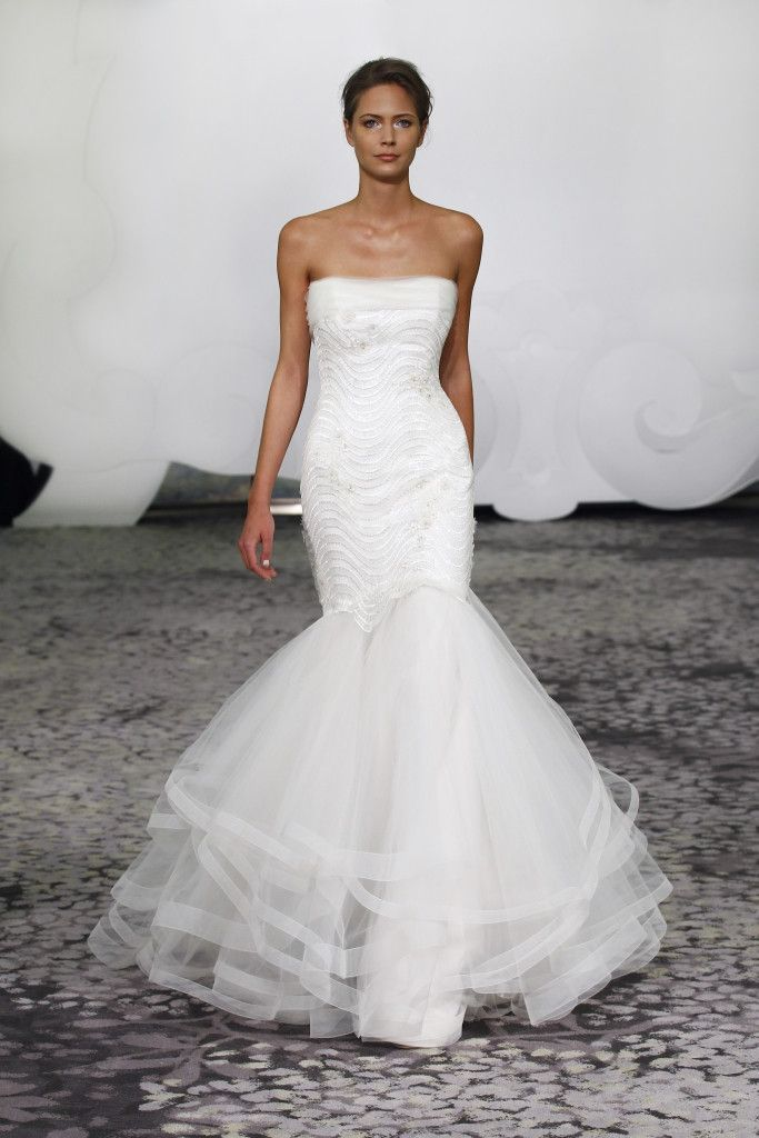 Rivini Anora paillette encrusted lace gown with tulle and mohair ...