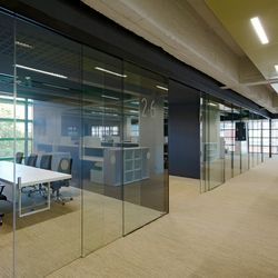 Commercial Interior Sliding Glass Doors partitions-sliding wall systems-partitions-space dividers-extendo