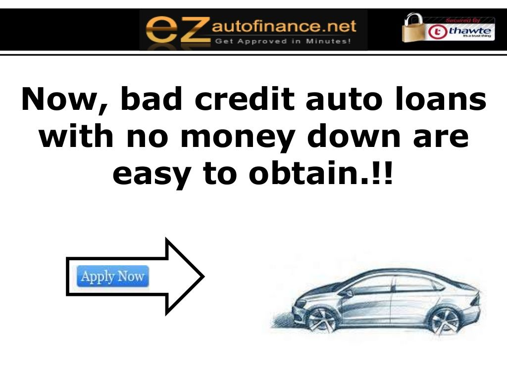 No Down Payment Automobile Financing at https//www