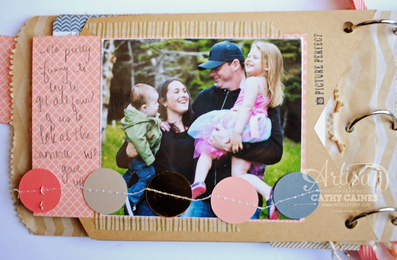 CELEBRATION BANNER MINI ALBUM | AWW by Cathy Caines @Stampin' Up!