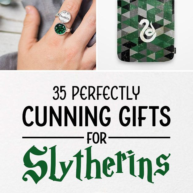35 Perfectly Cunning Gifts For Slytherins