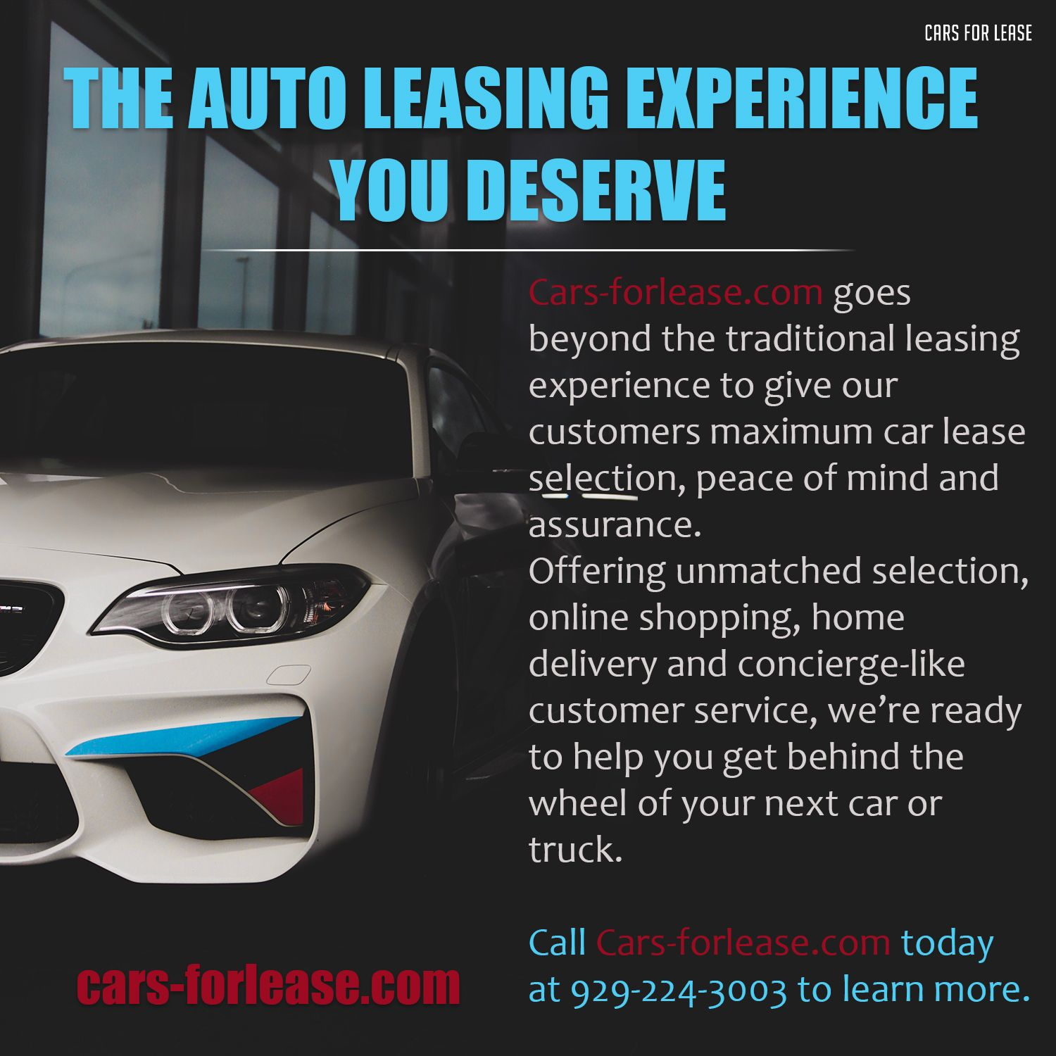 The Auto Leasing Experience You Deserve Car Lease Lease Lease Specials