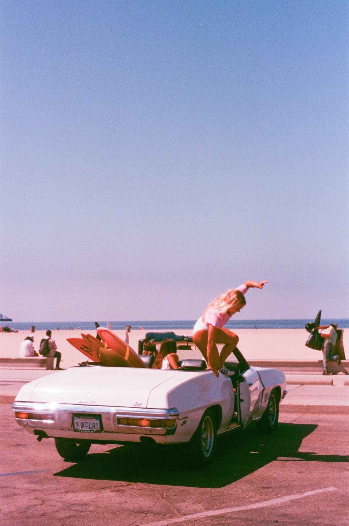 Our NEW WAVE getaway ride... | NEW WAVE | Retro aesthetic ...