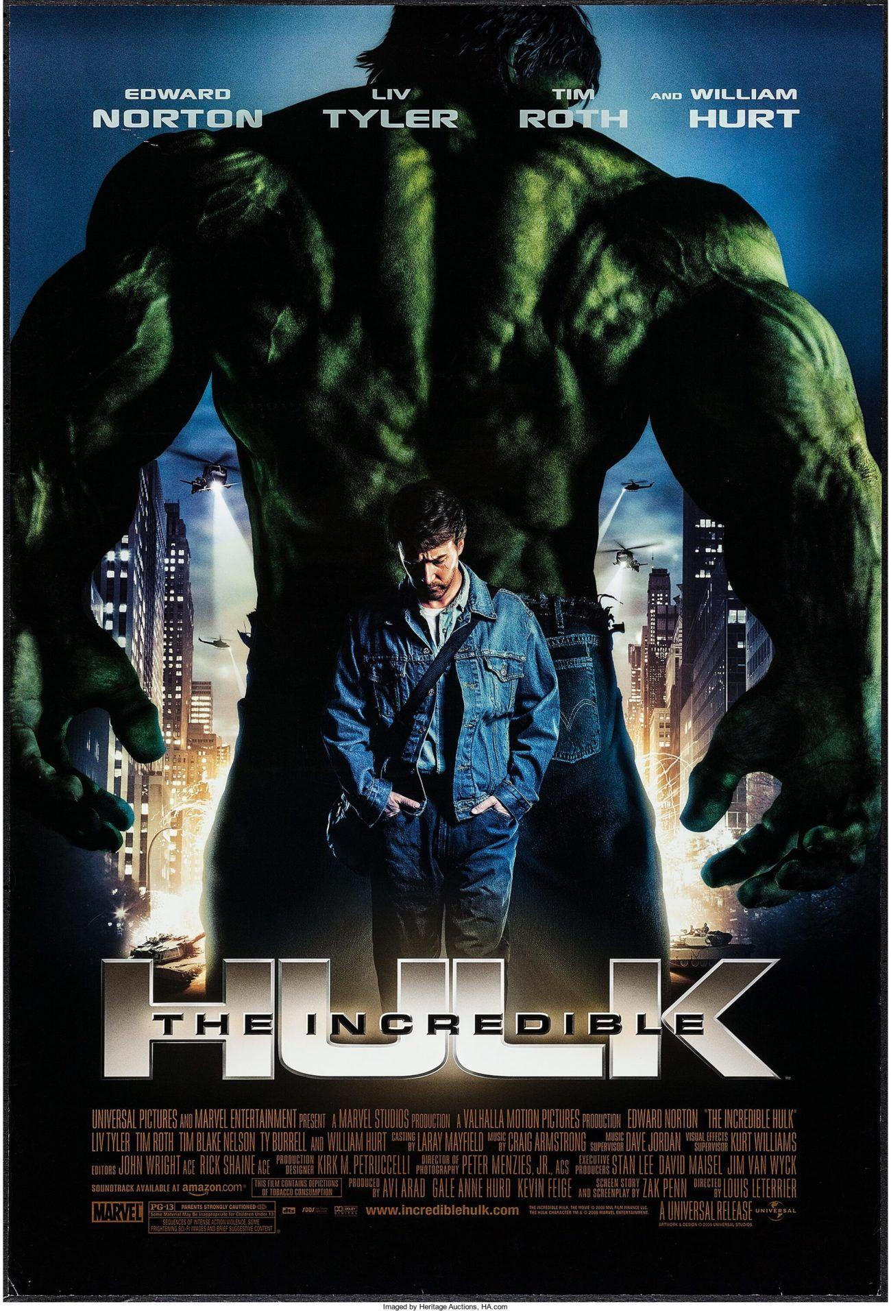 O Incrível Hulk (The Incredible Hulk), 2008.