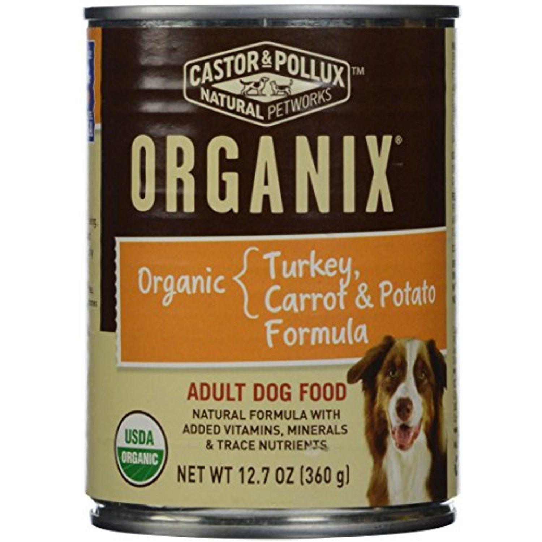 Organix Organic Turkey Carrot Potato 12 7 Oz Canned Dog Food