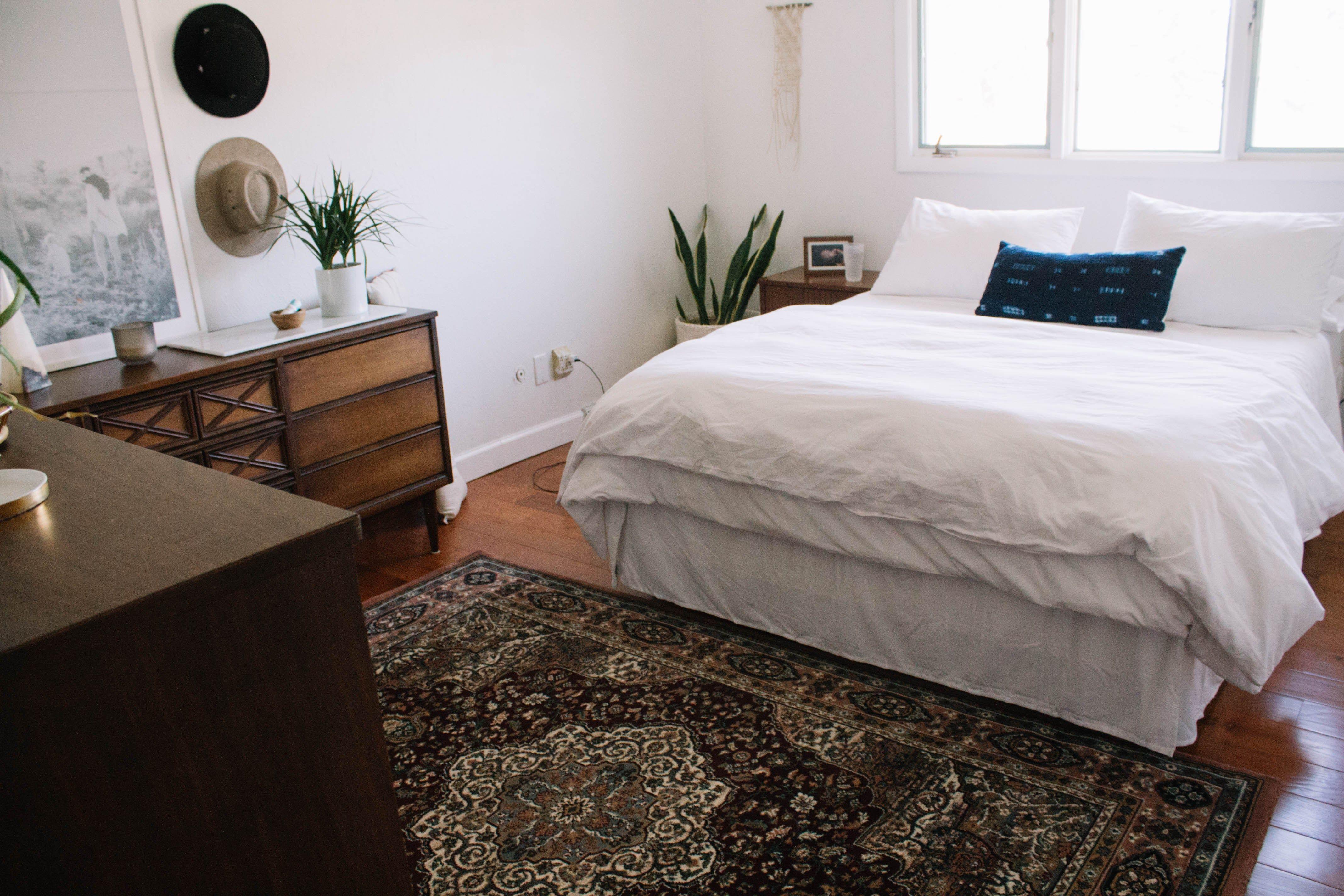 Boho bedroom with Little Rug Shop rug (With images) Boho