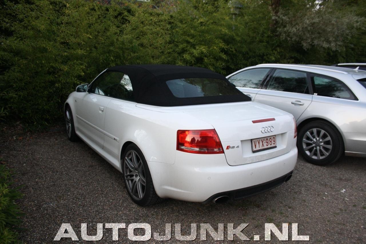 Audi RS4 Cabriolet foto's » Autojunk.nl (89095)