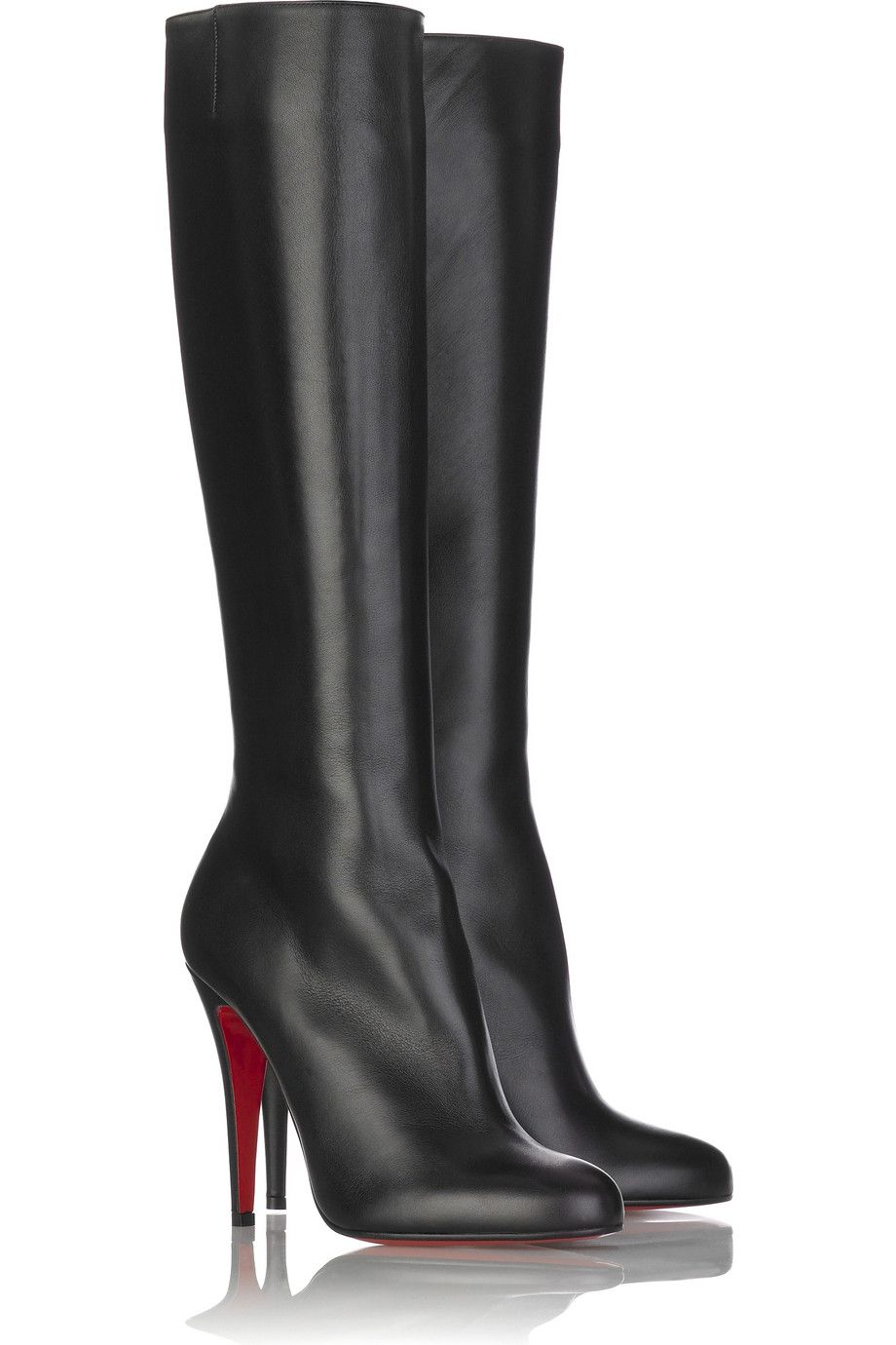 Babel Platform Boots Black cheap louboutinshoes christian louboutin Fast Worldwide Delivery