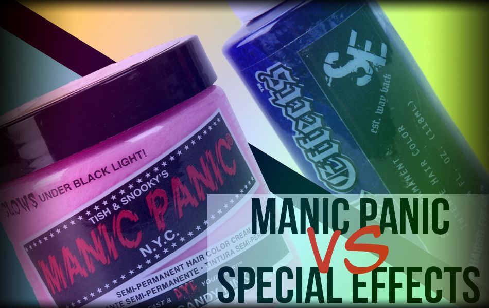 MANIC PANIC VS SPECIAL EFFECTS