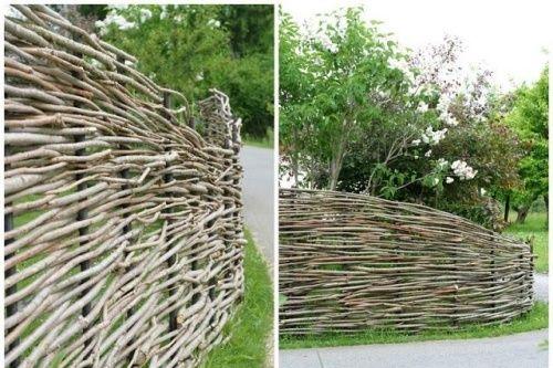 Ideen Weidenzaun-gartenzaun Gartengestaltung Billig Heißt Nicht ... Gunstige Gartengestaltung