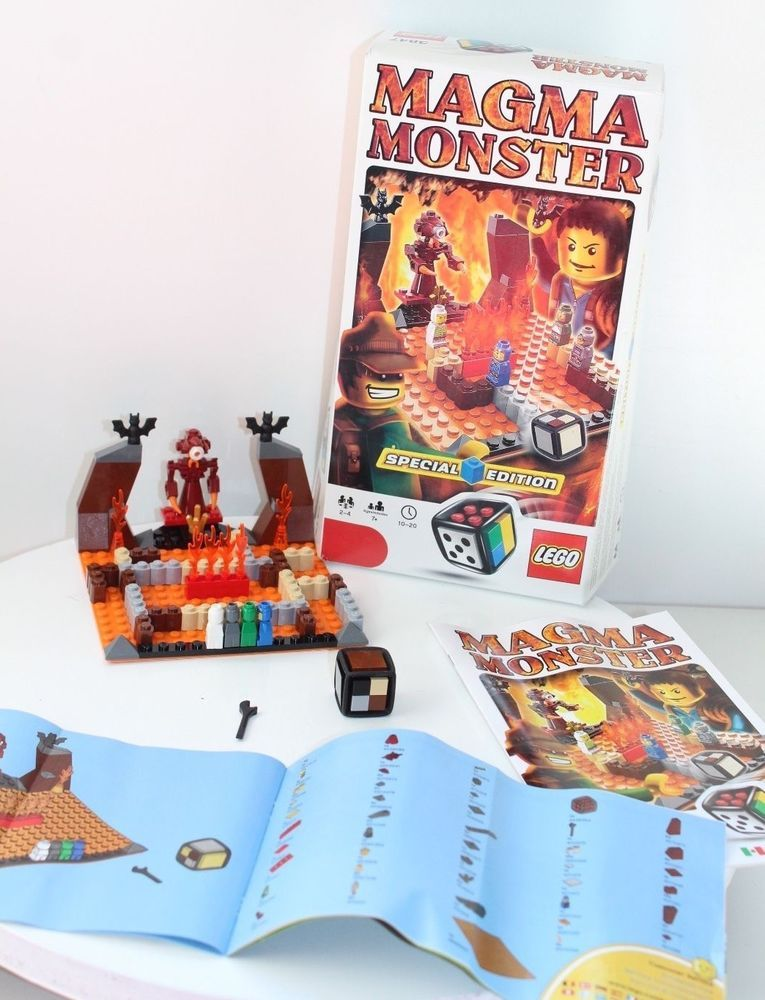 Lego Game 3847 Magma Monster Special Edition With Instructions