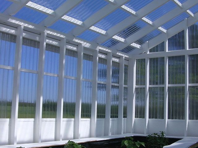 We Saw This Impressive Greenhouse In North Carolina, Made With TUFTEX  PolyCarb Panels, And