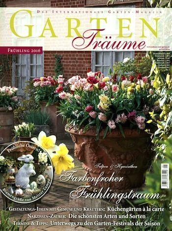 Zeitschrift Gartenträume Abo Gartenideen Pinterest - abo mein schoner garten