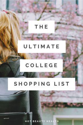 College Checklist: 250+ Dorm Room Essentials images