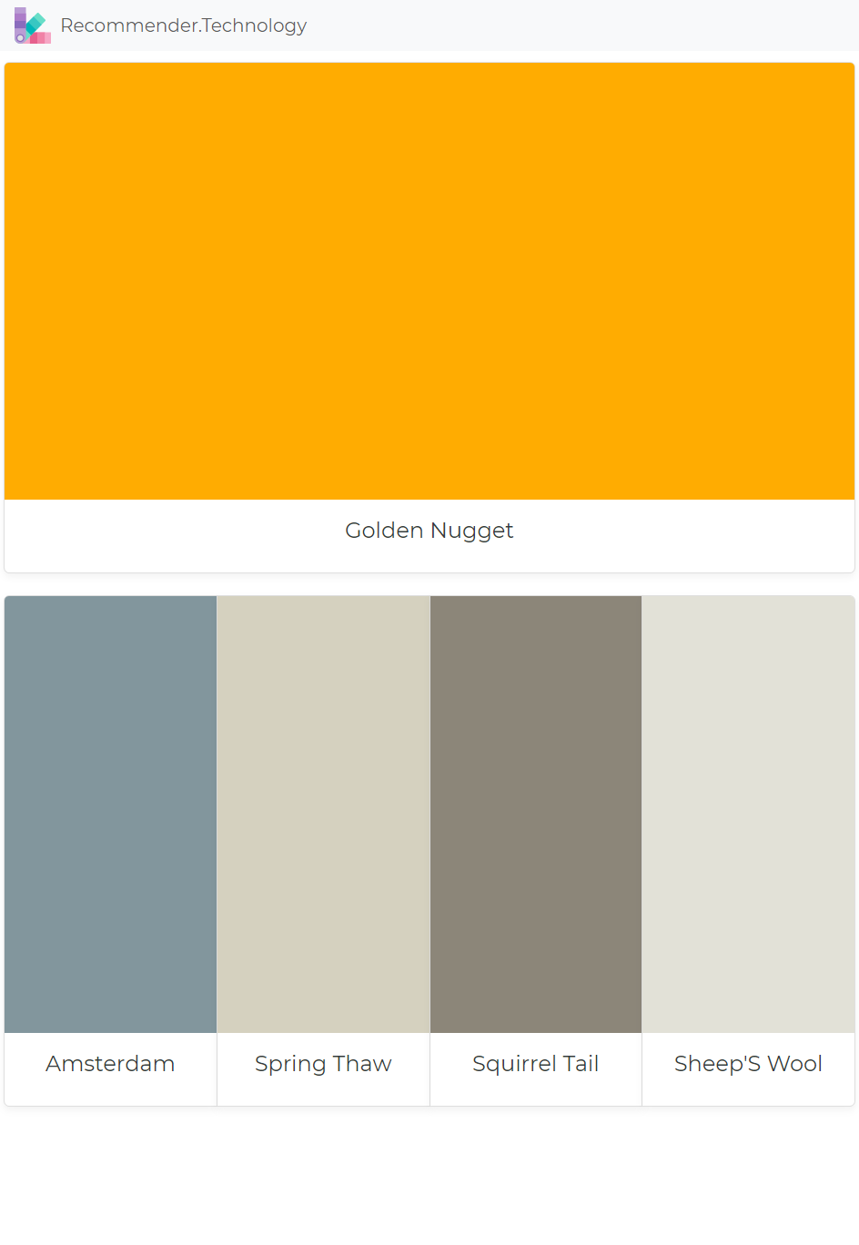 Download Golden Nugget: Amsterdam, Spring Thaw, Squirrel Tail, Sheep'S Wool | Perfect paint color, Paint ...