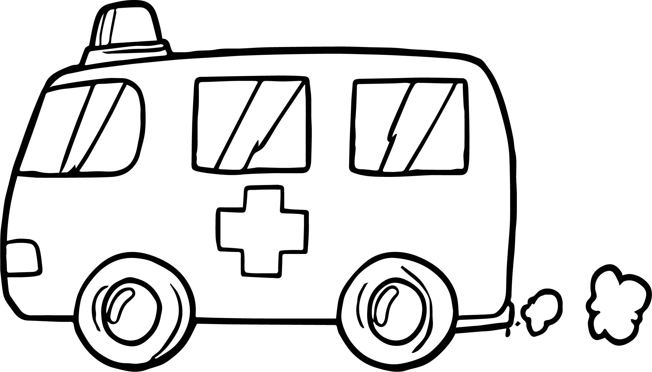 Cool Fast Ambulance Coloring Page Printable Coloring Pages Printable Coloring Train Coloring Pages