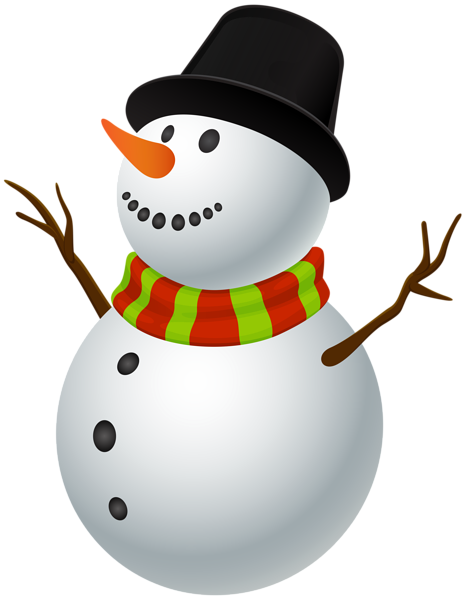 Snowman Clip Art Image Christmas gift images, Christmas