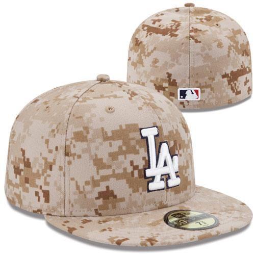 262e7f0f28b New Era L.A. Dodgers 2013 Memorial Day Stars   Stripes 59FIFTY Fitted Hat –  Digital Camo