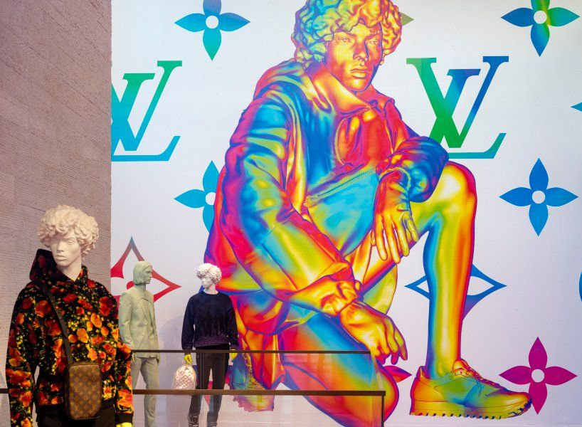 2c69894d48 louis vuitton opens pop-up store in miami to celebrate virgil ablohs debut  mens collection | Netfloor USA
