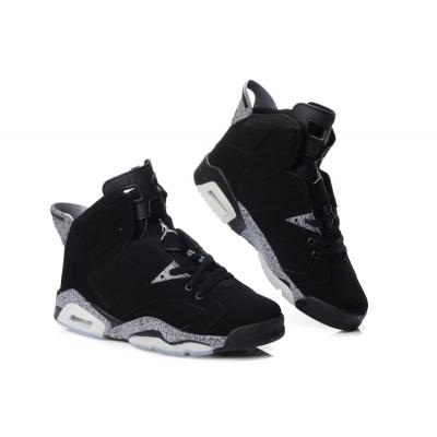 2ca0798aa118 Nike Air Jordan Shoes 6 VI Retro Pattern Grey-Black