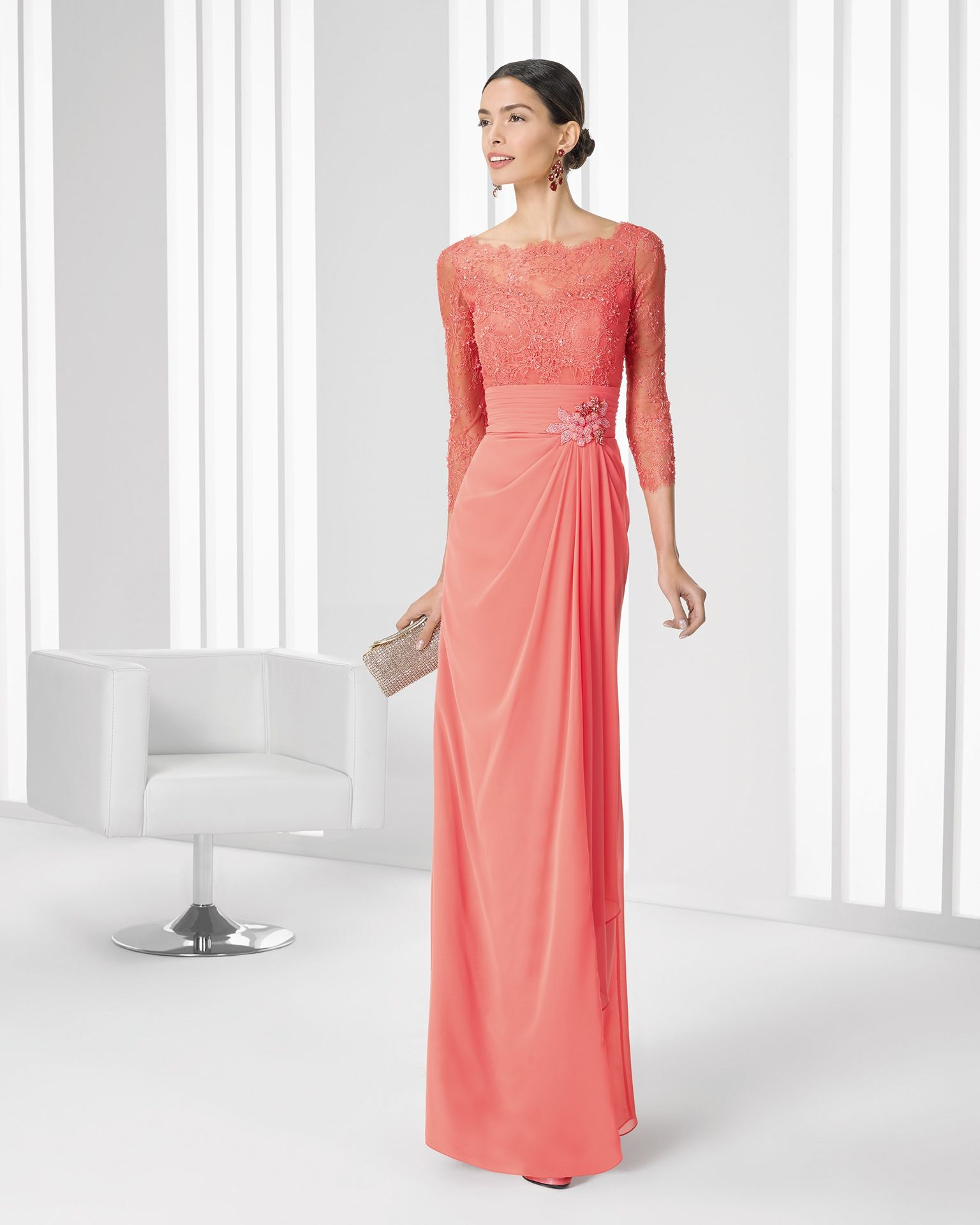 2016 9T266 COCKTAIL ROSA CLARA | Long Dresses | Pinterest | Rosa ...