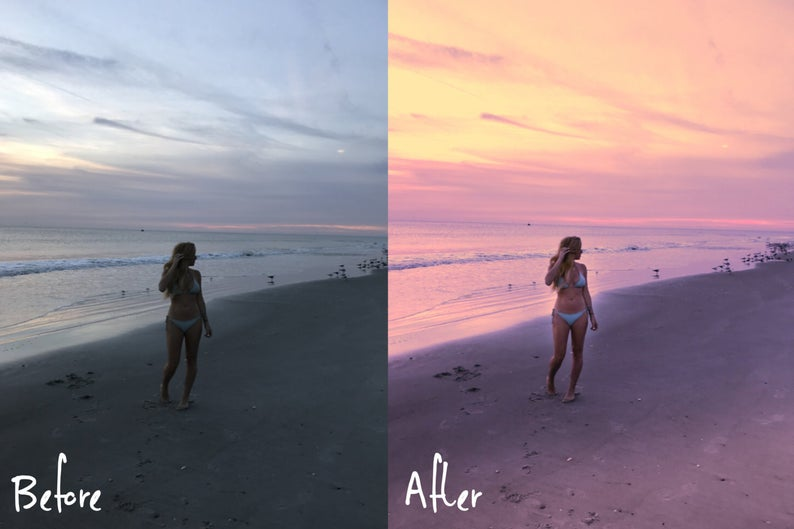 How to add clouds in lightroom