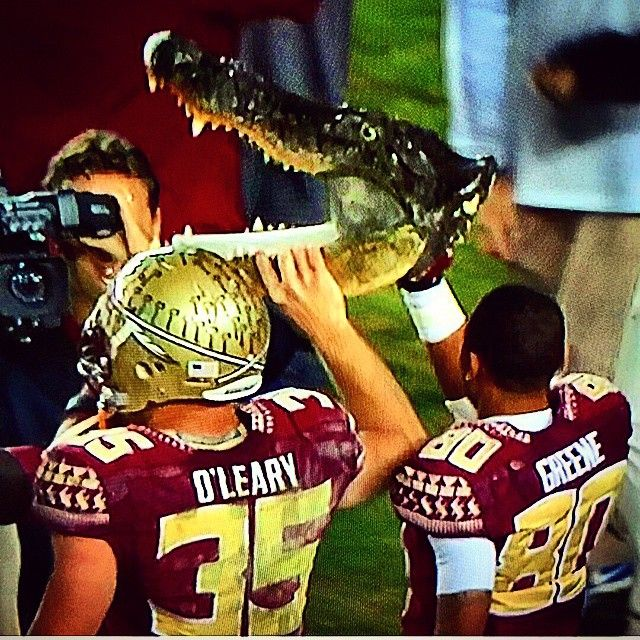 Instagram Photo By Kscan7 Kris Scanlon Via Iconosquare Fsu Football Florida State Football Seminoles Football